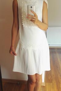Biała sukienka ASOS 34 Warehouse...