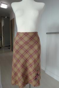 Spódnica HM Modna Kratka Midi Beżowa M...