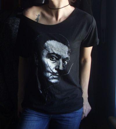 Koszulki Koszulka oversize Salvador Dali