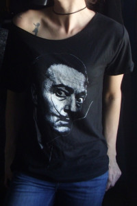 Koszulka oversize Salvador Dali