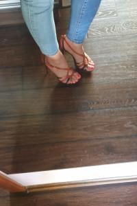 Sandały na platformie Kazar...