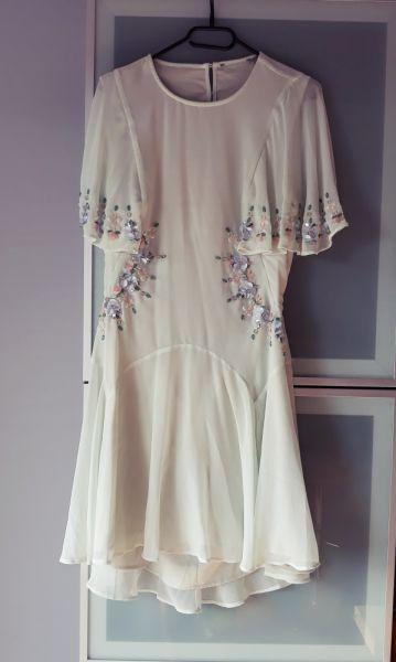 Suknie i sukienki Sukienka ASOS bogato zdobiona rozmiar L