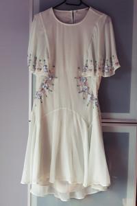 Sukienka ASOS bogato zdobiona rozmiar L