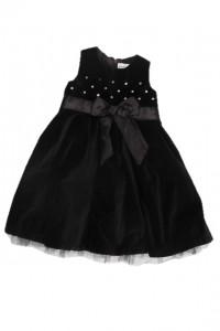 rarly days sukienka pluszowa czarna rozm 74 cm mcy 6 do 12