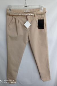 Spodnie beżowe Zara 164 cm...