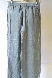 Spodnie Proste Nogawki H&M XS 34 Zielone Dresowe...