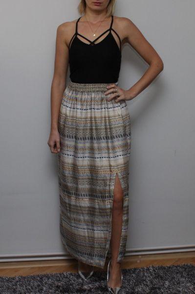 Spódnice H&M Maxi Spódniczka XS