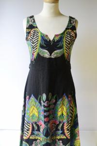 Sukienka NOWA Desigual M 38 Wzory Rozkloszowana Boho...