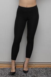Sinsay czarne Elastyczne Spodnie Zipy...