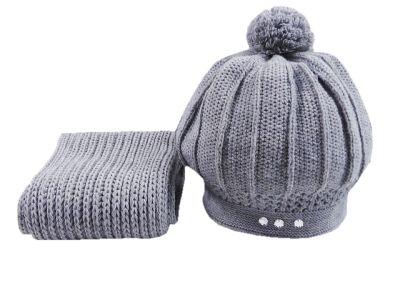 Nakrycia głowy czapka i szalik damska zimowa