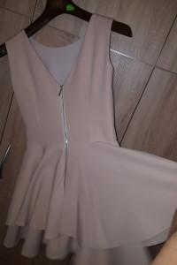sukienka łosoś XS...