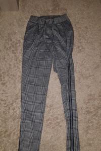 spodnie krata XS...