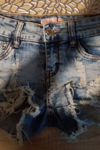 spodenki jeans XS