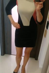 Mała czarna mini sukienka sexy r XS zara mohito