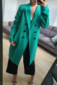 Vero Moda zielony wiosenny płaszcz 38