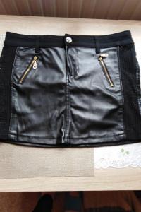 spodniczka mini z lateksu...