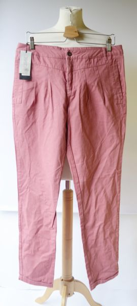Spodnie Spodnie Nowe Only W36 XL 42 Malinowe Chinosy