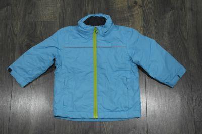 Kurtki Kurtka narciarska niebieska z odblaskami 86 92
