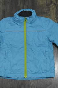 Kurtka narciarska niebieska z odblaskami 86 92