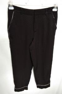 spodnie czarne Zara M...