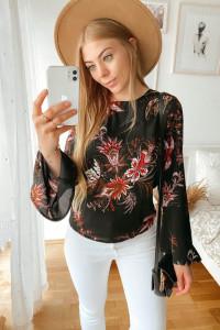 Czarna bluzeczka vintage