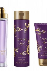 Divine Royal perfum żel i balsam zestaw Oriflame