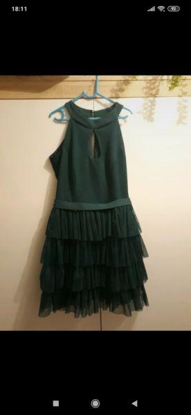 Suknie i sukienki Krótka zielona sukienka