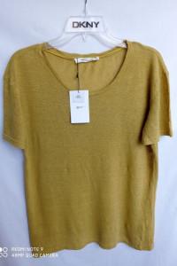 Tshirt lniany Zara M