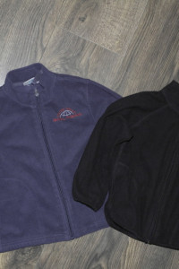 Dwie bluzy cienki polarek 98 104