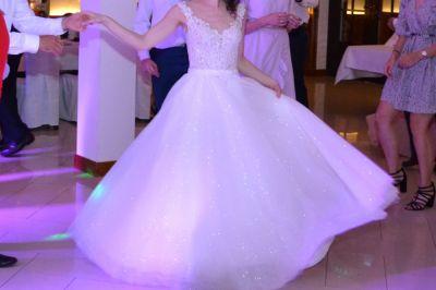Suknie ślubne Suknia ślubna księżniczka r 36