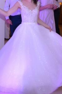 Suknia ślubna księżniczka r 36