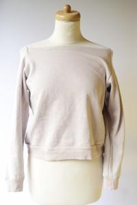 Bluza Top Krótka Dresowa Nowa S 36 Southbeach Beżowa