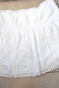 Tommy Hilfiger biała spódniczka mini