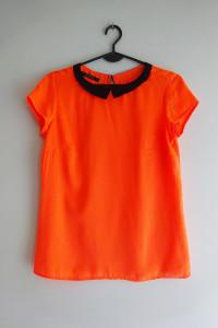 Mohito neonowa pomarańczowa jaskrawa bluzka 36 S
