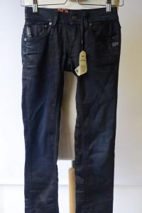 Spodnie Nowe G Star 26 28 XS 34 Dzinsy Straight Fit Jeansy...