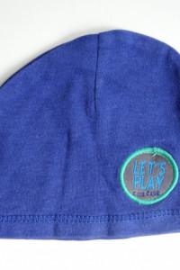 Cienka niebieska czapeczka Smyk dla niemowlaka