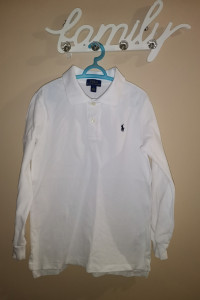 Bluzka Polo Ralph Lauren r 7 lat...