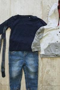 Zestaw ubrań dla chłopca 6 9 miesięcy...