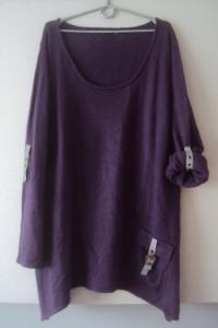 asymetryczna sweterkowa tunika...