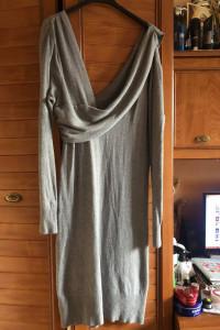 Bcbgmaxazria sweterkowa sukienka XL