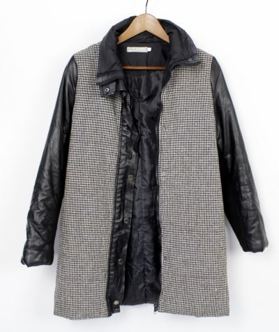 Odzież wierzchnia Płaszcz jesionka pepitka 36 S
