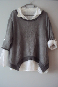 włoski sweterek 2w1