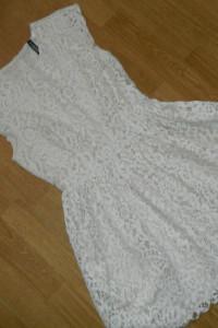 Divided by H&M sukienka gipiura roz 36...