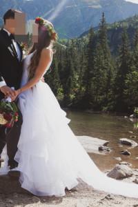 Suknia ślubna mojego projektu r38