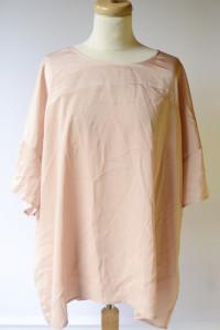 Bluzka Różowa Pudrowy Róż NOWA 50 Junarose 5XL
