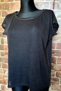 Czarna bluzka C&A...