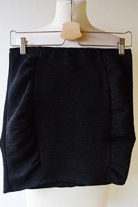 Spódniczka H&M Czarna Prążkowana S 36 Mini...
