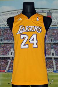 LOS ANGELES LAKERS NBA ADIDAS 24 KOBE BRYANT ROZ S...