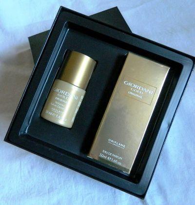 Perfumy Oriflame Giordani Gold Original edp 50 ml deo zestaw prezentowy
