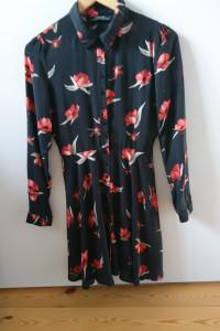 Sukienka Mini w kwiaty ZARA XS...